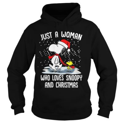 Just A Woman who loves Snoopy and Christmas hoodie 400x400 - Just a Woman who loves Snoopy and Christmas sweatshirt, hoodie, LS