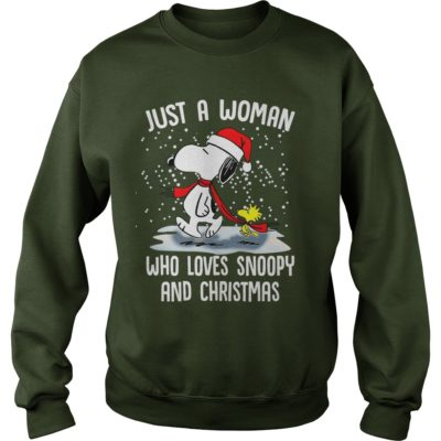 Just A Woman who loves Snoopy and Christmas sweater 400x400 - Just a Woman who loves Snoopy and Christmas sweatshirt, hoodie, LS