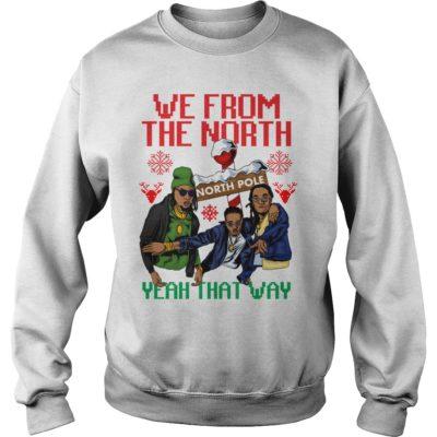 Migos We from the north yeah that way Christmas sweatshirt 400x400 - We from the north yeah that way Christmas sweatshirt, hoodie