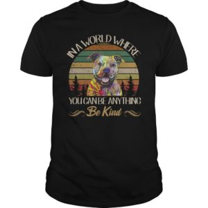 Pitbull In a world where you can be anything Be kind shirt 300x300 - Pitbull In a world where you can be anything Be kind shirt, hoodie