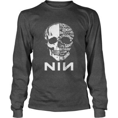 Skull Nin long sleeve 400x400 - Skull Nin shirt, long sleeve, tank top, hoodie