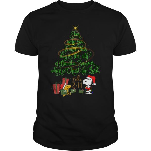 Snoopy For Unto You Is Born This Day In The City Of David a Saviour shirt 600x600 - Snoopy For Unto You Is Born This Day In The City Of David a Saviour shirt