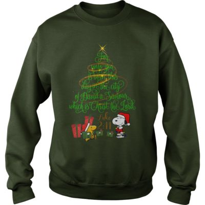Snoopy For Unto You Is Born This Day In The City Of David a Saviour sweater 400x400 - Snoopy For Unto You Is Born This Day In The City Of David a Saviour shirt