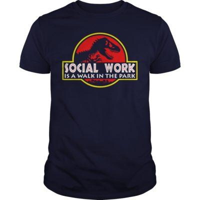 Social work is a walk the Park guys tee 400x400 - Social work is a walk the Park shirt, ladies tee, hoodie, guys tee
