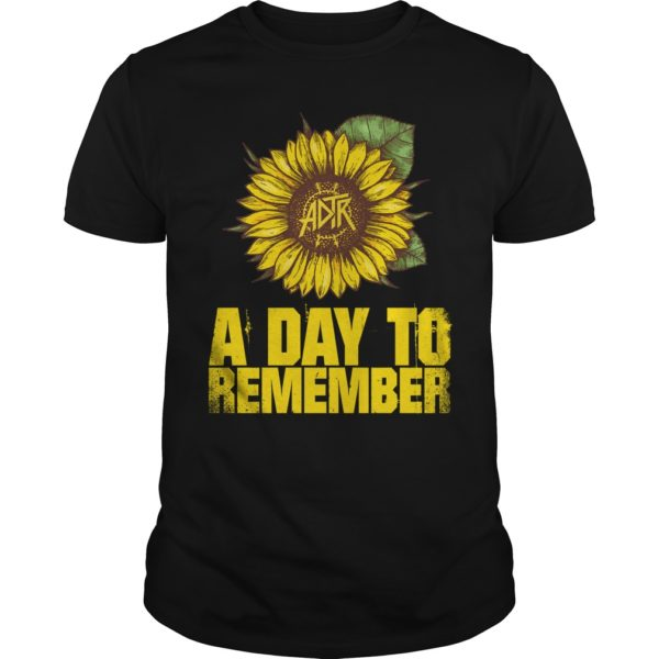 Sunflowers A Day To remember t shirt 600x600 - Sunflowers A Day To remember t-shirt, long sleeve, hoodie