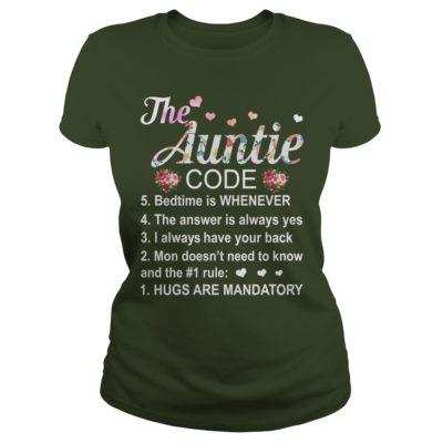 The Auntie Code ladies tee 400x400 - The Auntie Code shirt, ladies tee, sweater, hoodie