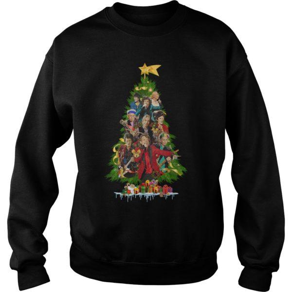 The Rolling Stones Christmas Tree sweatshir 600x600 - The Rolling Stones Christmas Tree sweatshirt, hoodie, long sleeve