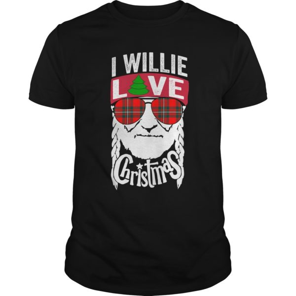 Willie Nelson I willie love Christmas shirt 600x600 - Willie Nelson I willie love Christmas shirt, sweatshirt, hoodie
