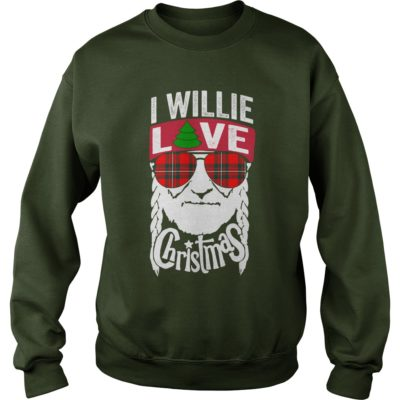 Willie Nelson I willie love Christmas sweater 400x400 - Willie Nelson I willie love Christmas shirt, sweatshirt, hoodie