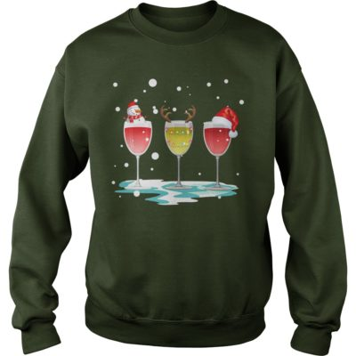 Wine Christmas sweatshirt 400x400 - Wine Christmas shirt, sweater, long sleeve, hoodie