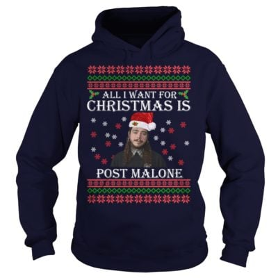 All I want for Christmas is Post Malone hoodie 400x400 - All I want for Christmas is Post Malone sweater, long sleeve, t-shirt