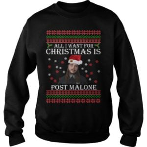 All I want for Christmas is Post Malone t shirt 300x300 - All I want for Christmas is Post Malone sweater, long sleeve, t-shirt