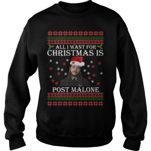 All I want for Christmas is Post Malone t shirt 600x600 - All I want for Christmas is Post Malone sweater, long sleeve, t-shirt