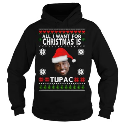 All I want for Christmas is Tupac hoodie 400x400 - All I want for Christmas is Tupac sweater, hoodie, t-shirt
