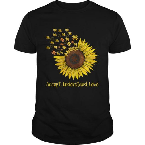 Autism Sunflower Accept understand love shirt 600x600 - Autism Sunflowers Accept understand love shirt
