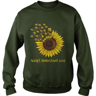 Autism Sunflower Accept understand love sweater 400x400 - Autism Sunflowers Accept understand love shirt