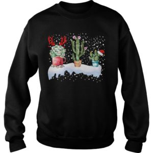 Cactus Christmas sweatshirt 300x300 - Cactus Christmas sweatshirt, hoodie, t-shirt and long sleeve
