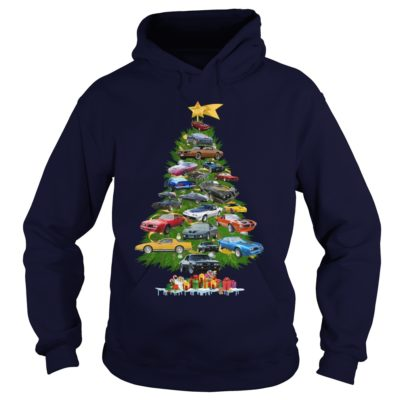 Cars Christmas tree hoodie 400x400 - Cars Christmas tree sweatshirt, hoodie, long sleeve, t-shirt