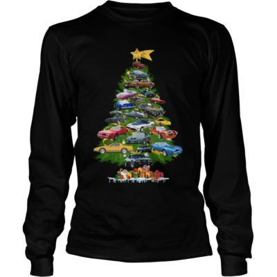 Cars Christmas tree long sleeve 400x400 - Cars Christmas tree sweatshirt, hoodie, long sleeve, t-shirt