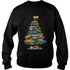 Cars Christmas tree sweatshirt 300x300 - Cars Christmas tree sweatshirt, hoodie, long sleeve, t-shirt