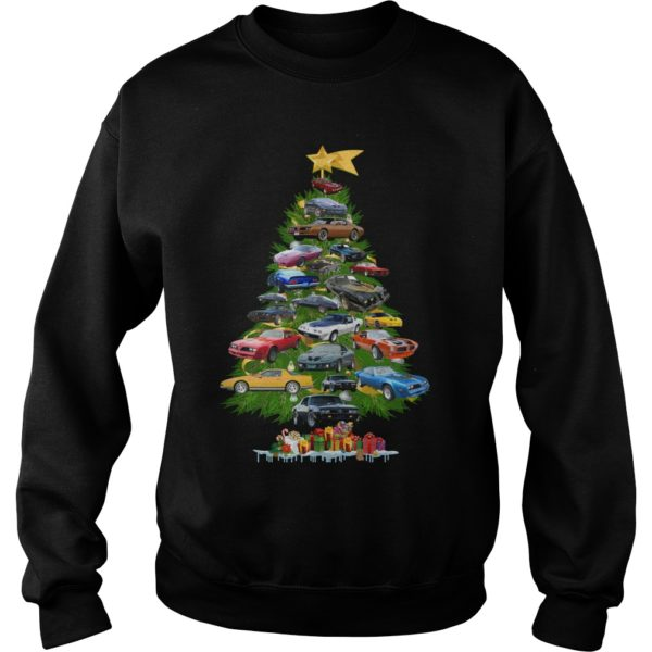 Cars Christmas tree sweatshirt 600x600 - Cars Christmas tree sweatshirt, hoodie, long sleeve, t-shirt