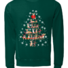 Chihuahuacv copy unisex sweatshirt bottle green front 100x100 - Chihuahua Christmas tree sweatshirt, hoodie, t-shirt