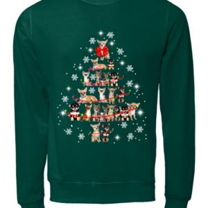 Chihuahuacv copy unisex sweatshirt bottle green front 300x300 - Chihuahua Christmas tree sweatshirt, hoodie, t-shirt