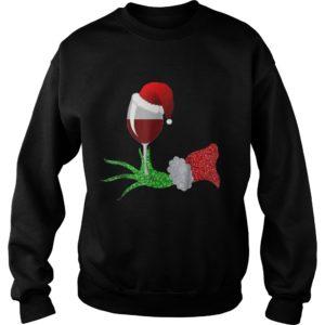 Grinch Hand Holding Glass of Wine Christmas sweatshirt 300x300 - Grinch Hand Holding Glass of Wine Christmas sweatshirt, ladies tee, hoodie