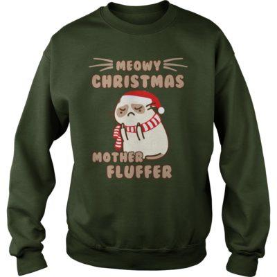 Meowy Christmas Mother Fluffer sweatshirt 400x400 - Meowy Christmas Mother fluffer sweatshirt, long sleeve, hoodie, ladies tee