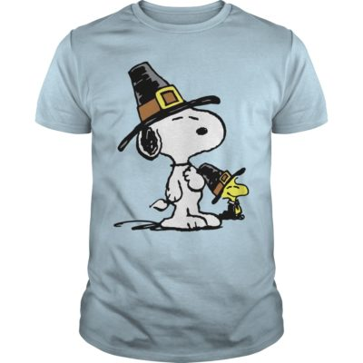 Snoopy and Woodstock Thanksgiving guys tee 400x400 - Snoopy and Woodstock Thanksgiving shirt, hoodie, long sleeve