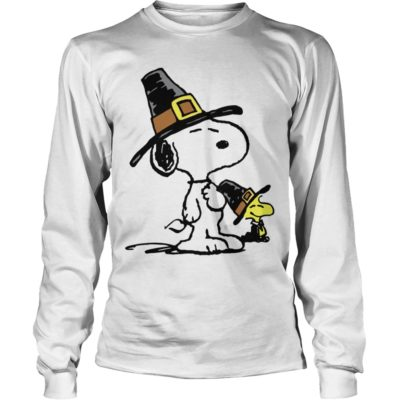 Snoopy and Woodstock Thanksgiving long sleeve 400x400 - Snoopy and Woodstock Thanksgiving shirt, hoodie, long sleeve