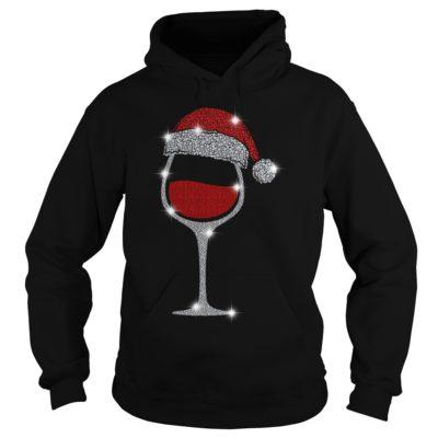 Wine Diamond Santa Hat Christmas hoodie 400x400 - Wine Diamond Santa Hat Christmas sweatshirt, hoodie, long sleeve
