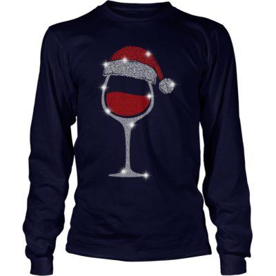 Wine Diamond Santa Hat Christmas long sleeve 400x400 - Wine Diamond Santa Hat Christmas sweatshirt, hoodie, long sleeve