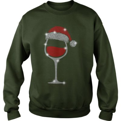 Wine Diamond Santa Hat Christmas sweaters 400x400 - Wine Diamond Santa Hat Christmas sweatshirt, hoodie, long sleeve
