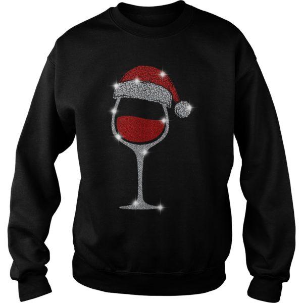 Wine Diamond Santa Hat Christmas sweatshirt 600x600 - Wine Diamond Santa Hat Christmas sweatshirt, hoodie, long sleeve