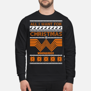 all i want for christmas is whataburger sweatshirt unisex sweatshirt jet black front 2 300x300 - All I want for Christmas is Whataburger sweatshirt, long sleeve