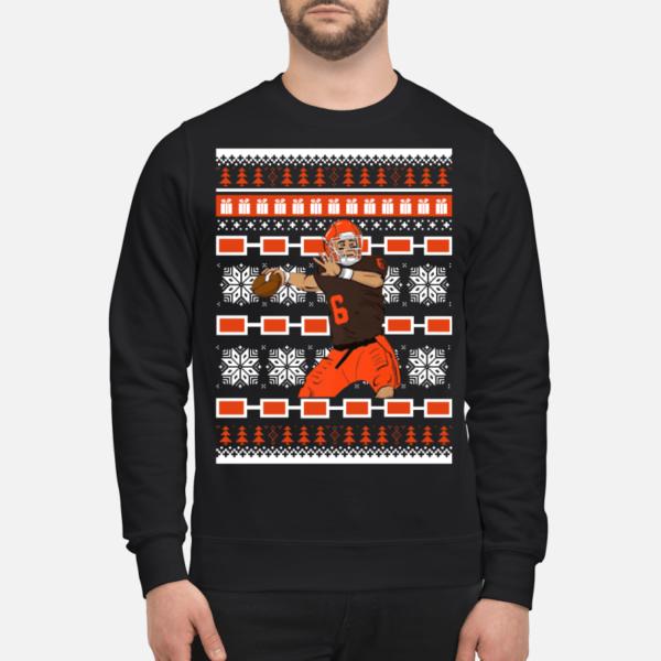 baker mayfield christmas sweatshirt unisex sweatshirt jet black front 600x600 - Baker Mayfield Christmas sweatshirt, hoodie, t-shirt, long sleeve
