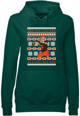 baker mayfield christmas sweatshirt women s hoodie bottle green front 275x400 - Baker Mayfield Christmas sweatshirt, hoodie, t-shirt, long sleeve