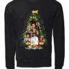 bruno mars copy unisex sweatshirt jet black front 100x100 - Bruno Mars Christmas tree sweatshirt, hoodie, long sleeve