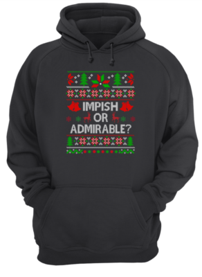 impish or admirable sweatshirt unisex hoodie jet black front 292x400 - Impish or Admirable sweatshirt, hoodie, long sleeve, t-shirt