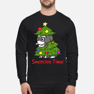 smoochie time christmas sweatshirt unisex sweatshirt jet black front 300x300 - Smoochie time Christmas sweatshirt, hoodie, long sleeve, t-shirt