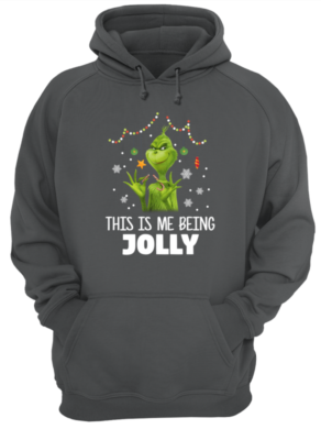 the grinch this is me being jolly sweatshirt unisex hoodie charcoal front 292x400 - The Grinch This is me being Jolly sweatshirt, hoodie, long sleeve