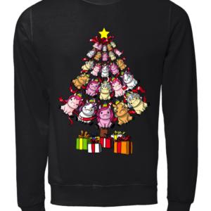 unicorn copy unisex sweatshirt jet black front 300x300 - Unicorn Christmas tree sweatshirt, long sleeve, t-shirt, hoodie