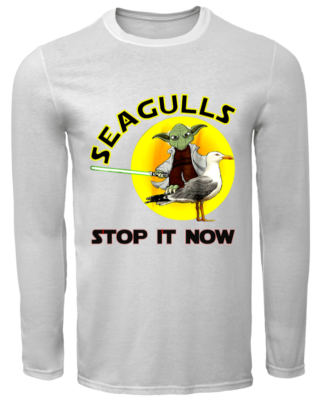 12193828 stop it now men s long sleeved t shirt white front 320x400 - Yoda Seagulls Stop It Now t-shirt, hoodie, guys tee, ladies tee