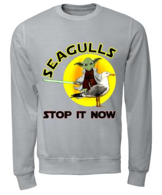 12193828 stop it now unisex sweatshirt heather grey front 332x400 - Yoda Seagulls Stop It Now t-shirt, hoodie, guys tee, ladies tee