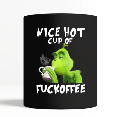 the grinch nice hot cup of fuckoffee mug black mug black center 1 400x400 - The Grinch Nice Hot Cup of Fuckoffee mug