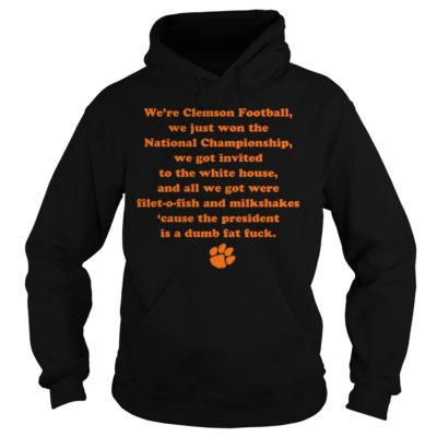 gggg 1 400x400 - We're clemson football we just won the national championship shirt