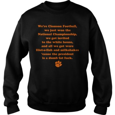 ghggggggggggg 400x400 - We're clemson football we just won the national championship shirt