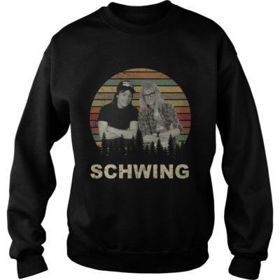 schwing 400x400 - Wayne's World schwing shirt, hoodie