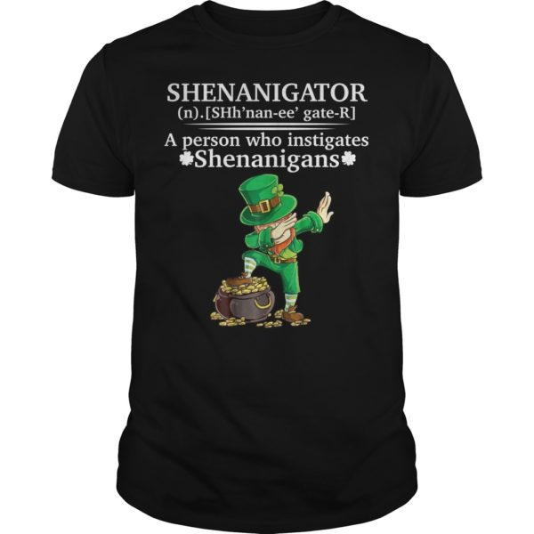 dd 600x600 - Shenanigator a person who instigates Shenanigans shirt